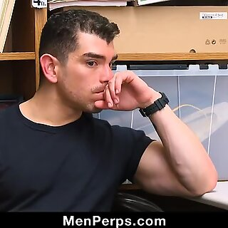 Sexy Jock Stud Takes Raw Cock Up Ass To Avoid Jail Time