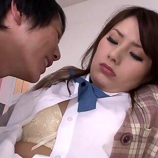 Sweet Japanilainen Schoolgirl Käytä väärin Opettaja