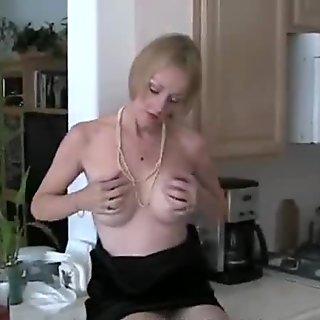 Sexy Homemade Teasing MILF Fun
