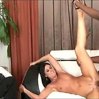 Interracial cuckold with mom 056