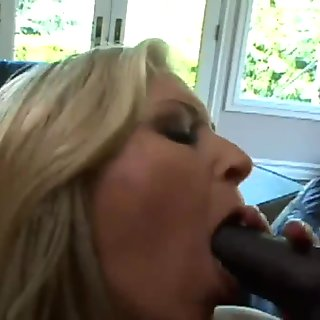 His huge cock feels so much better than yours