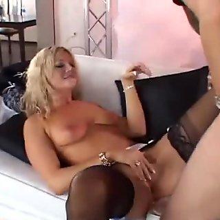 Blonde MILF Tries A New Dick