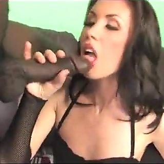 Nasty slut meets a black bull for impregnation