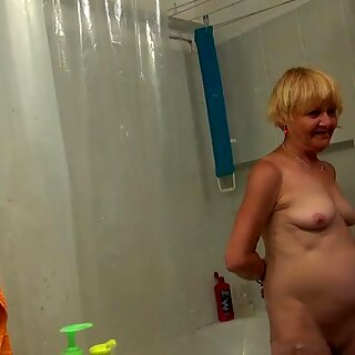 OldNannyPretty granny and nice girl masturbate together