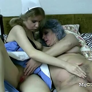 Hot Slut Loves to Go Wild With Grannies