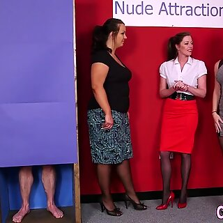 Cfnm mistress sucking