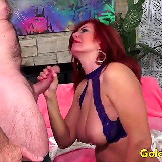 Golden Slut - Older Lady Blowjob Comp 11