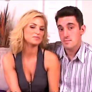 Brooke Fucks New Guy As Nick Watches