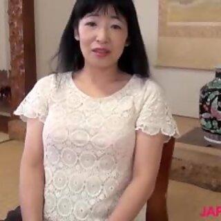 Japonki Babunie Yuki Yoneyama Przejeżdżka Duży Fiut
