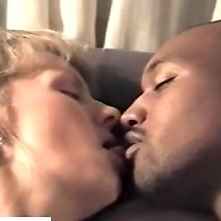 Wife fucked while fucking a black guy