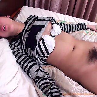 Japanese chick, Mao Miyazaki got pleased, uncensored