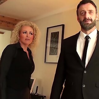 PASCALSSUBSLUTS - Lady Rebecca Smyth Ass Dominated By Master