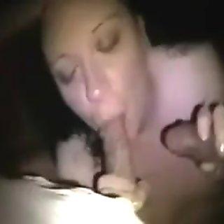 slut sucking two cocks