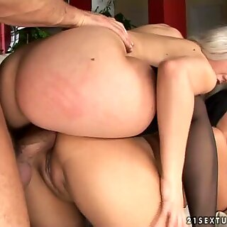 Kinky and fucking hot Nesty & Courtney tease a hot and strong dick