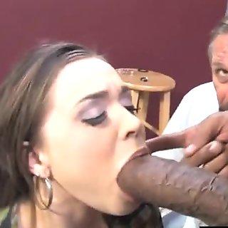 Poor Chastity Cuckold Watching Tiffany Star Having Fun
