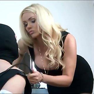 British Goddess Humiliates Her Submissive Cuckold Husband