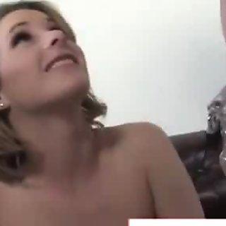 Cuckold slut chooses interracial