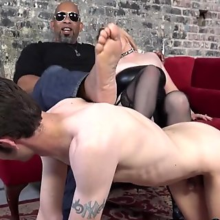 My wife cuckolds me with a Big black cock