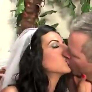 Honeymoon bride interracial cuckhold
