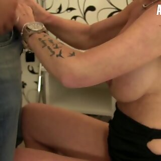 AmateurEuro - German grandmother Hiltrude Has fuckfest With young Guy