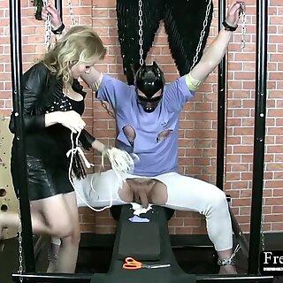 Frenzy BDSM Cock Bondage Masochism Session