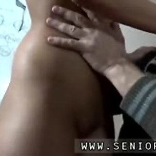 Old guy having sex with young Teaching Cindy how to speak Fr