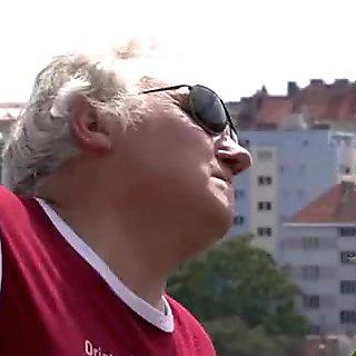 Horny dad bangs his son'_s GF