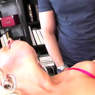 Cuckold femdom interracial big dick blowjob