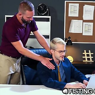 FistingCentral - Josh Mikael Really Wants That Promotion