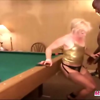 maxcuckold.com Wild Blonde Hard Fucked On Pool Table