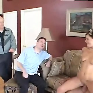 Mrs Spencer fucked in front of hubby