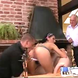 Sultry wife rides stranger's cock