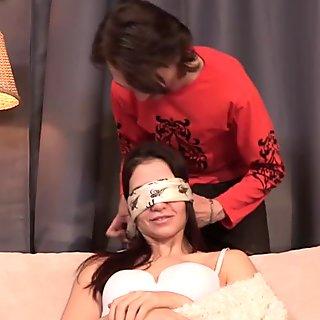 Cheating gf enjoys her boyfriends punishment