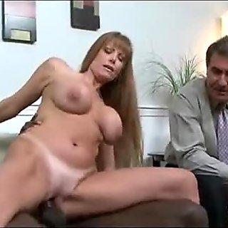 Watching mom fuck a black guy 202