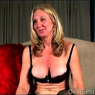 naughty old spunker loves to talk dirty and play with her yummy snatch