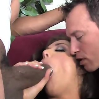 Poor Cuckold Watching His Wife Beverly Hills Getting Fucked
