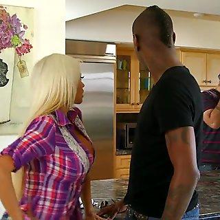 Nikita Von James Busty Milf Doggystyle Interracial