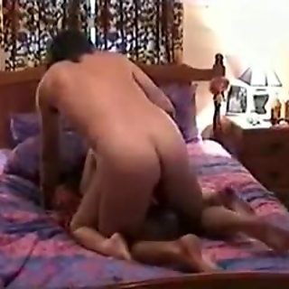 Cuckold husband watches wife fucking two guys