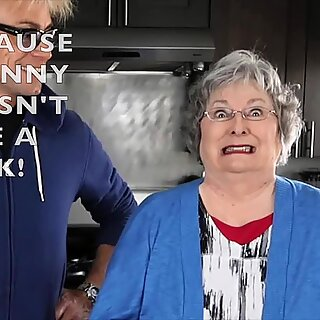 DISRESPECTING GRANNY VIII WITH GRANNY POTTY MOUTH!