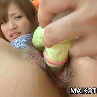 Saki Mitsui - Charming Japan Teen DeFlowered