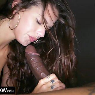 BLACKEDRAW Cheating girlfriend hooks up with black stud