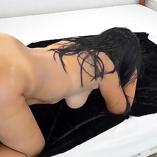 Mature mom and stepson anal sex on bed
