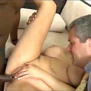 Watching mom fuck a black guy 523