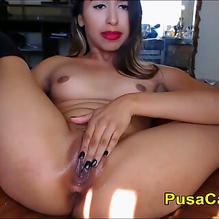 JAV Teen With Braces Oral and Dildo Wet Fuck