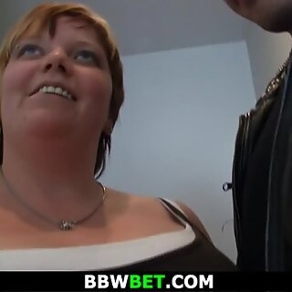 Picked up big belly fatty gets fucked in the shower