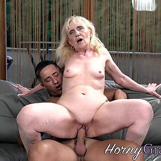 Doggystyle plowed grandma