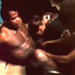 It is not hard tofind black men in Africa
