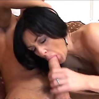 Mature Pussy Swallows Young Huge Cock