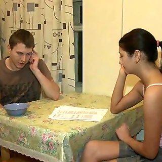 Boyfriend  Watches As Girlfriend Nikki Blows Stranger