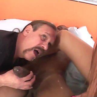 Jizz eating cuckold